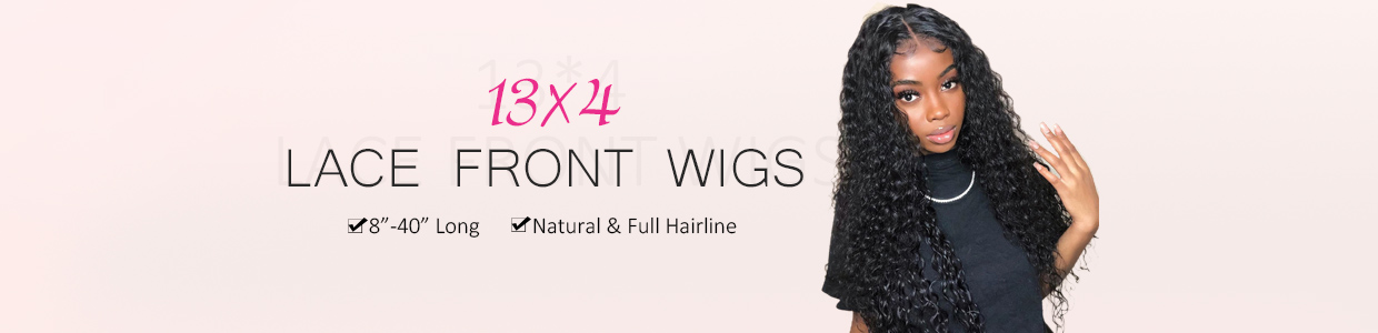 13*4 Lace Front Wigs