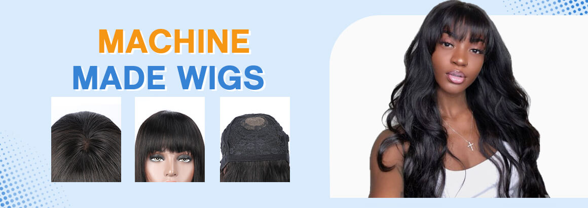 Machine Made Wigs