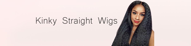 Kinky Straight Wigs