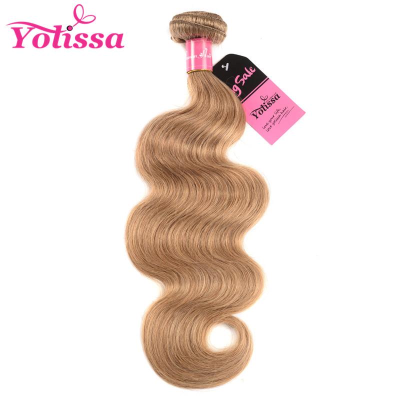 Yolissa 27 Hair Color Body Wave Weave Single Bundle Deal Yolissa Hair
