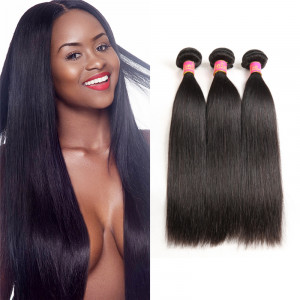 3 Bundles Straight Brazilian Hair