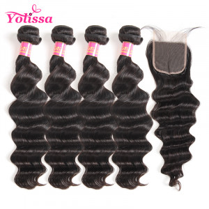Brazilian Virgin Hair 4 Bundles