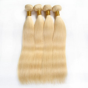 613 Honey Blonde Hair 4 Bundles