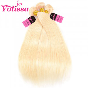 613 soft sillky straight platinum blonde hair