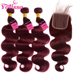 99J body wave hair weaves