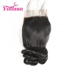 4*4 Lace Closure Loose