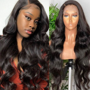 Body Wave 6*6 lace closure wigs