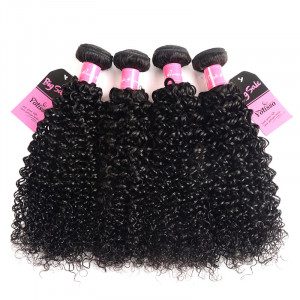 curly 4 bundles hair