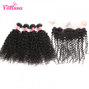 Brazilian Curly Virgin Hair 4 Bundles