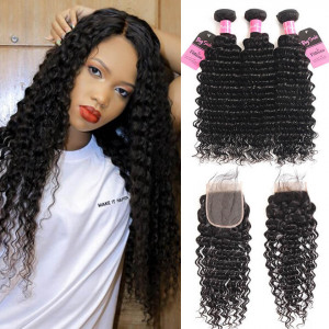 Deep Wave Bundle With Closure