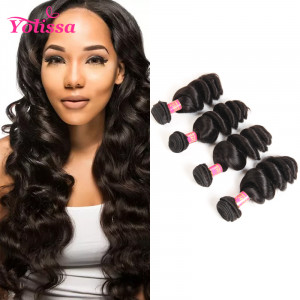 Loose Wave Hair 4 Bundles