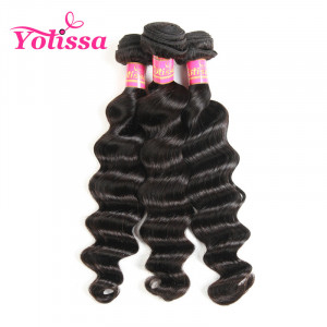 Brazilian Loose Deep Wave Virgin Hair 3 Bundles