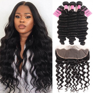 loose deep bundles with frontal