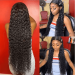 curly long lace front wigs