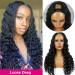 loose deep u part wigs