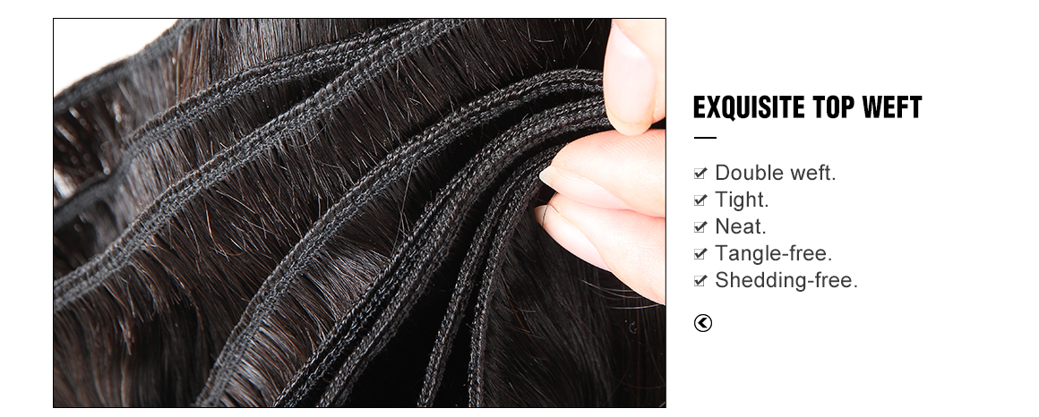 body wave bundles deals with closure 4*4