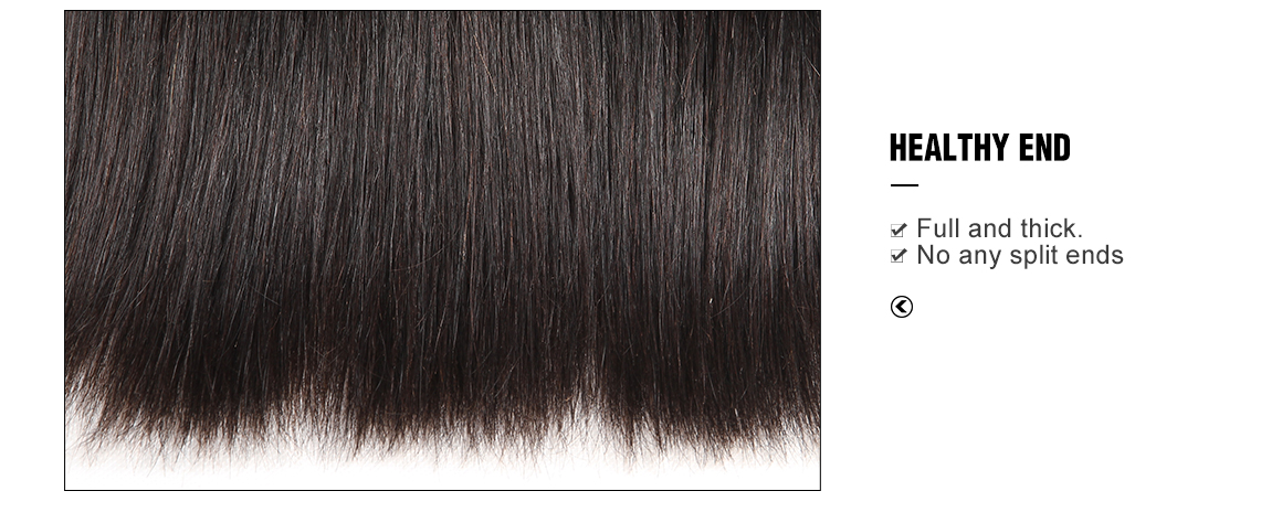 human hair weave 4 bundles natural black straight hair