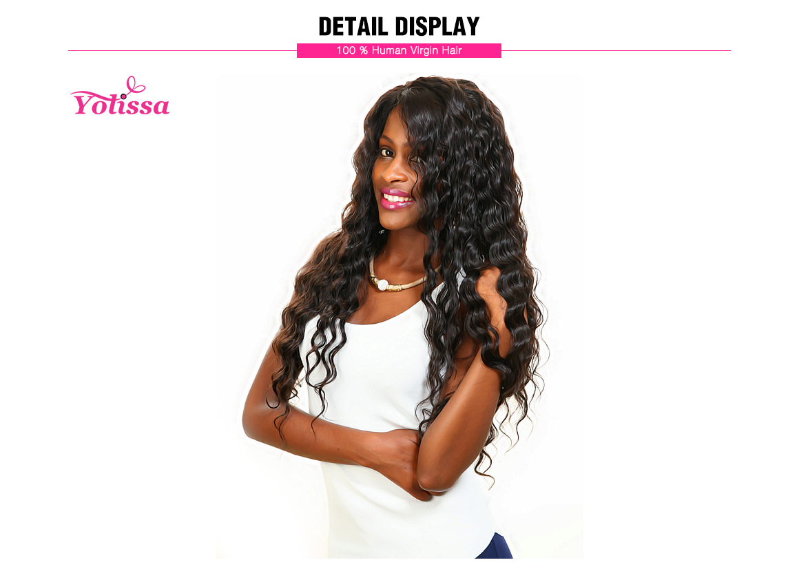 3 bundles loose deep wave malaysian hair weave human hair