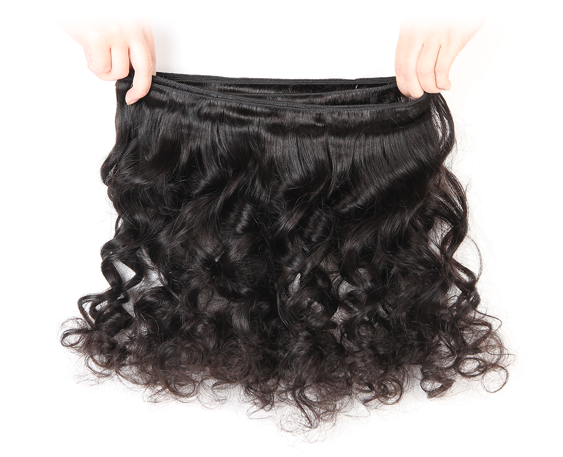 4 bundles loose wave wavy brazilian hair weave remy hair