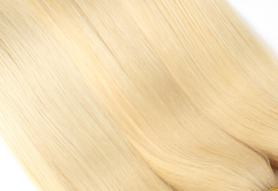 1b/613 straight human virgin hair bundles