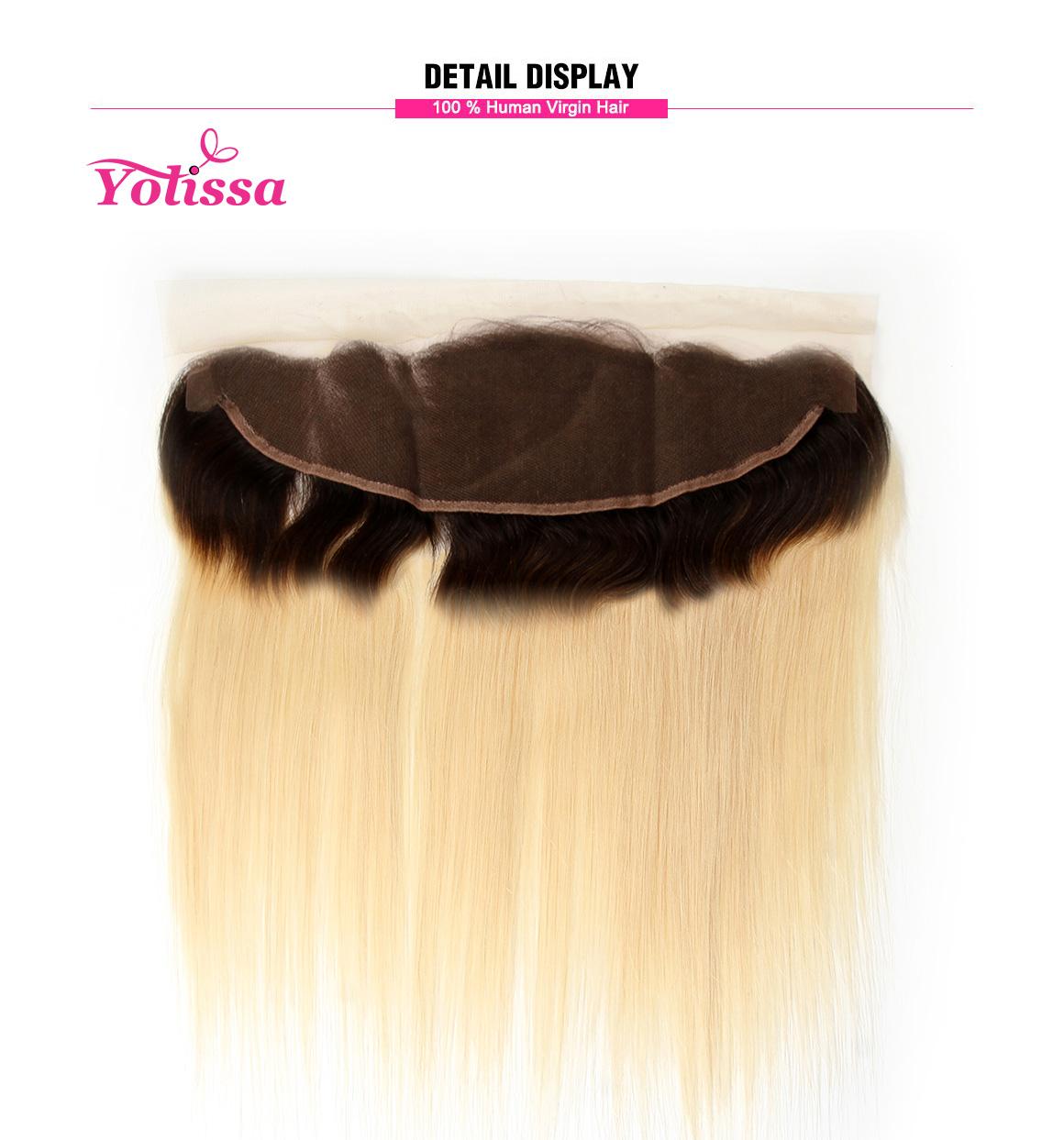 #1B/613 Platinum Blonde Straight Hair