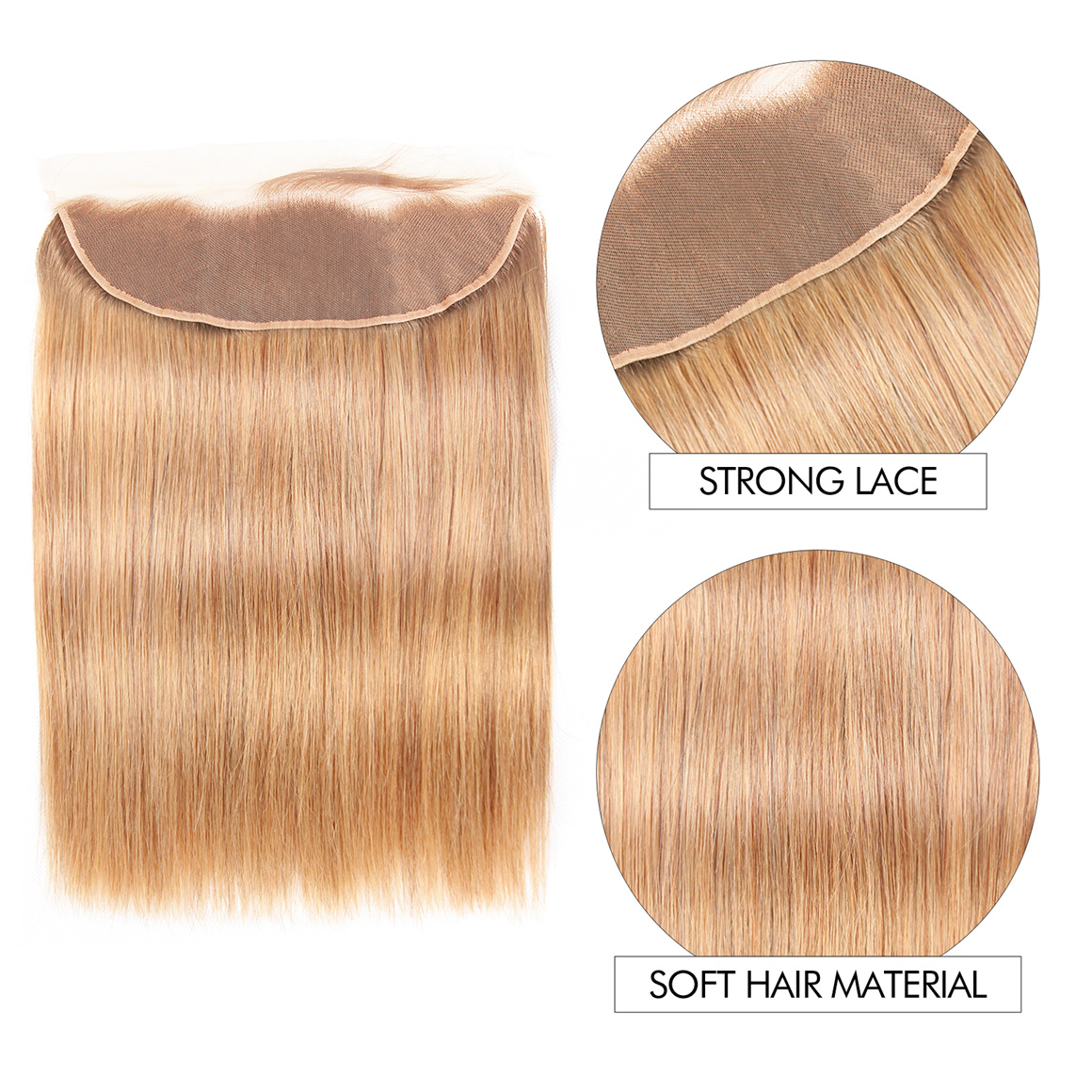 27 Hair Color 4 Bundles With Fronal 13×4 Deal Straight