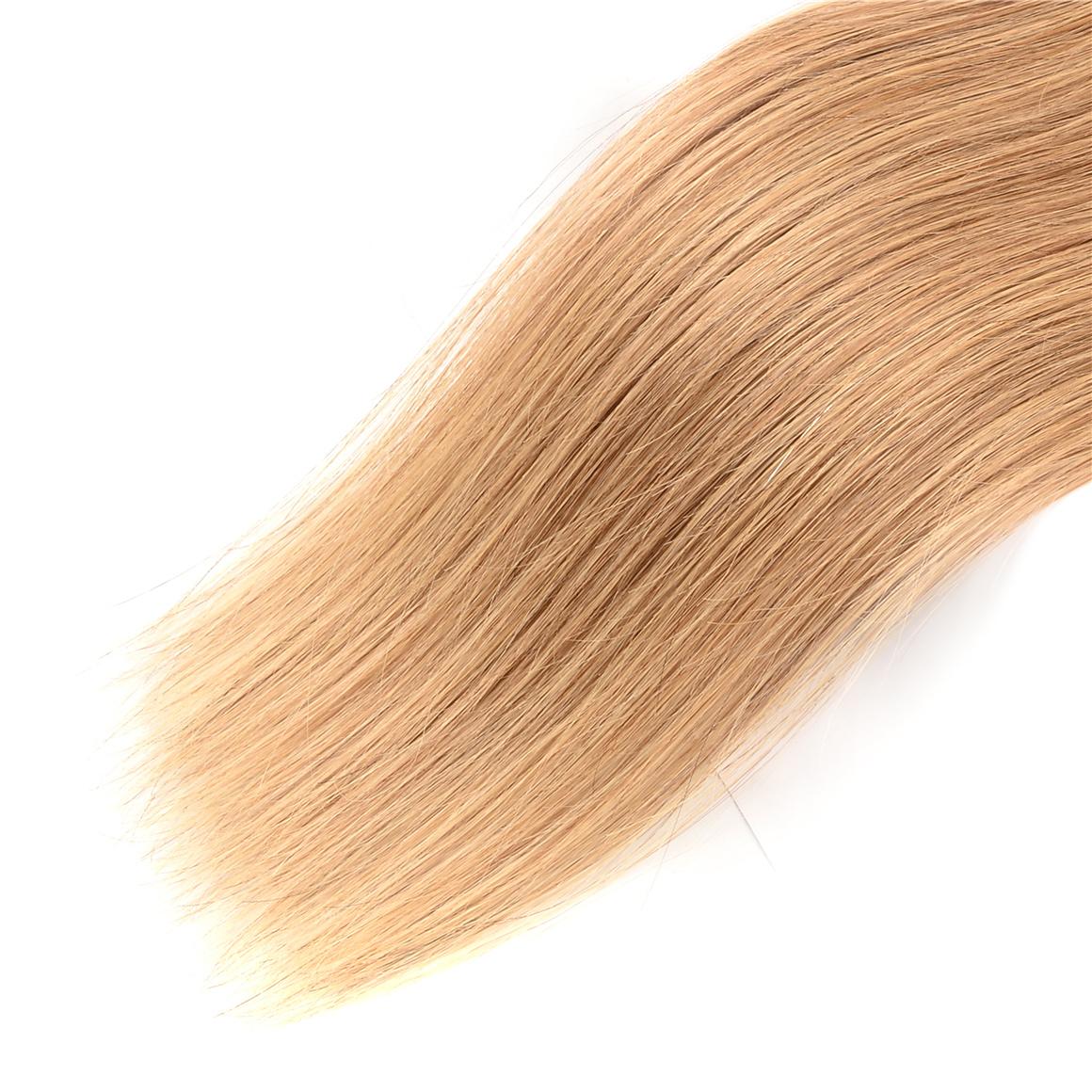 Straight Hair Honey Blonde 3 Bundles