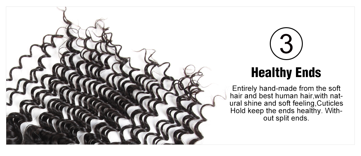 Brazilian Deep Wave Virgin Hair