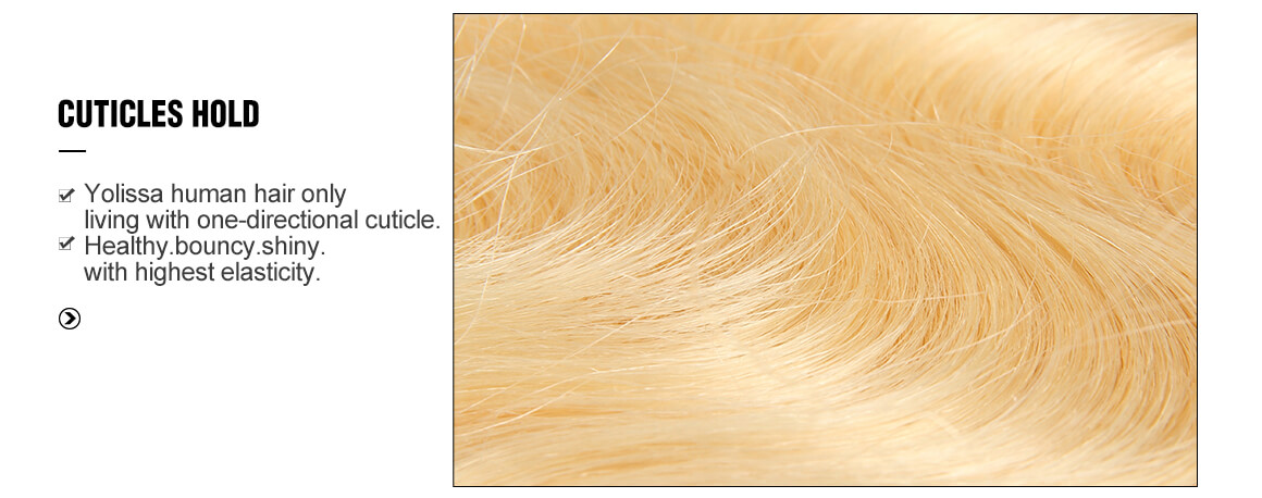 pure blonde body wave 4x4 lace closure