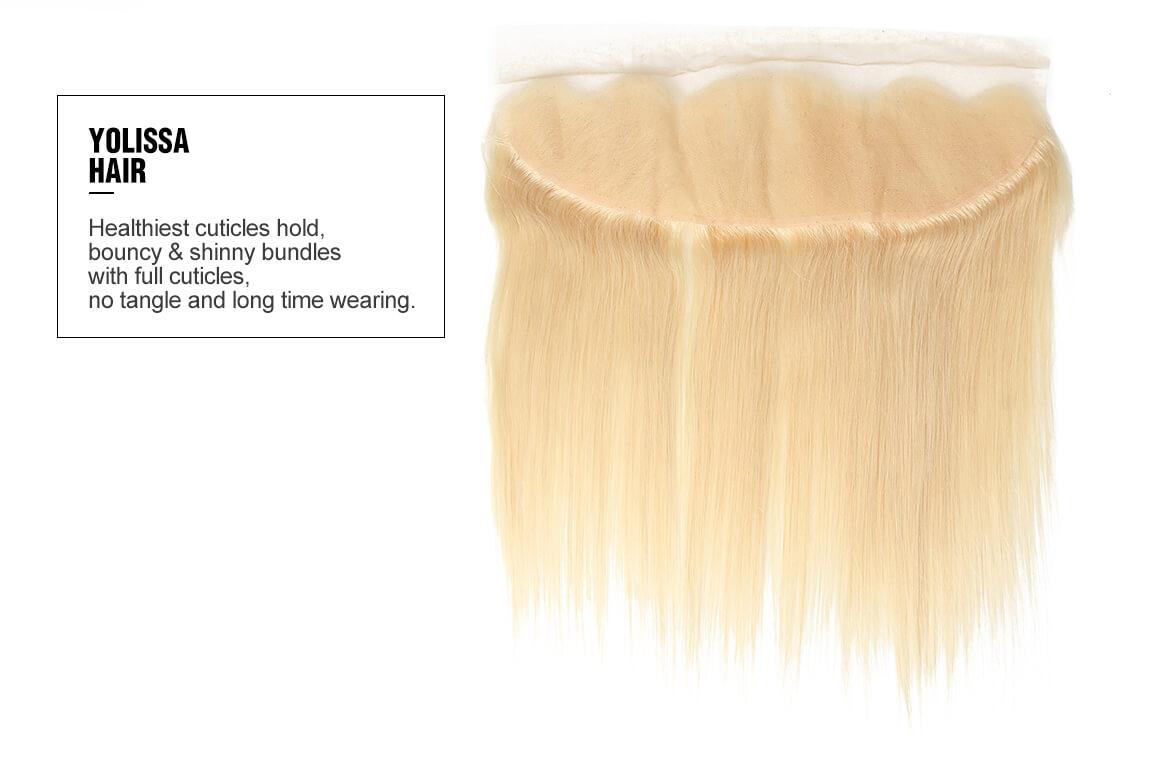 10-20inch #613 Blonde Straight Hair