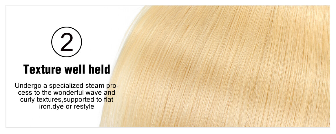 10-20inch #613 Blonde Lace Frontal Closure 13*4