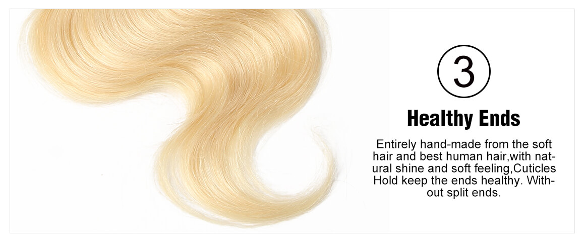 13x4 blonde lace frontal body wave human virgin hair
