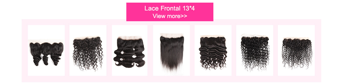Brazilian Virgin Curly Lace Frontal Hair