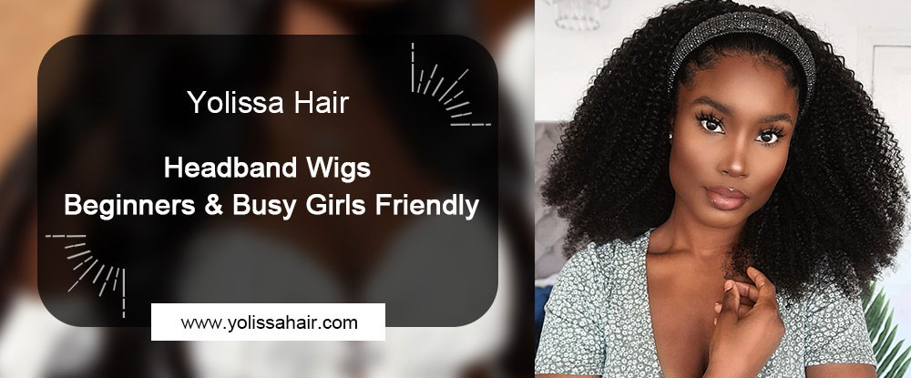 Headband Wigs--Beginners & Busy Girls Friendly