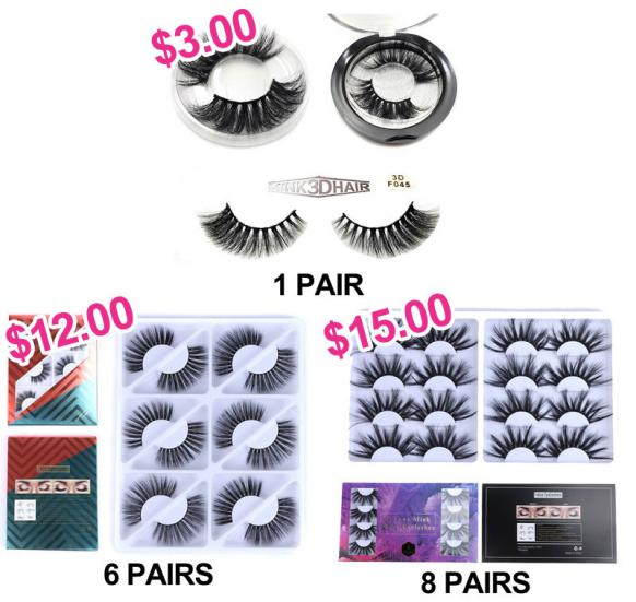 3D Super Long Mink Eye-Lashes