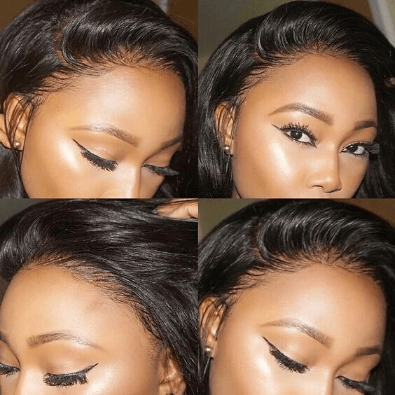 hairline of lace wigs