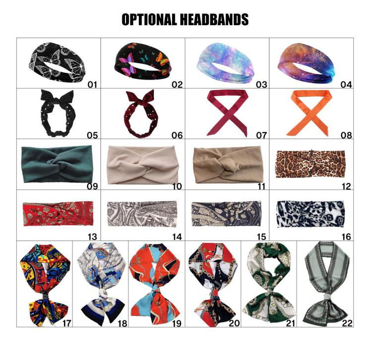Various Headbands
