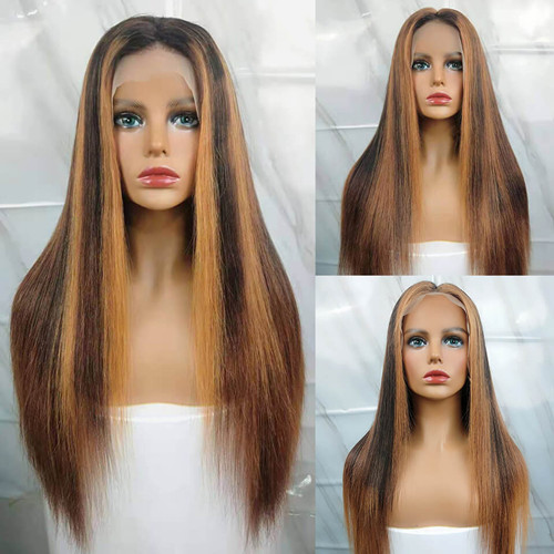 highligh #27 Lace Front Wigs