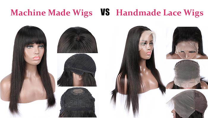 machine made wigs vs handmade wigs