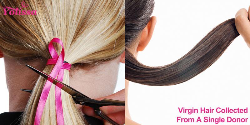 virgin hair collectedfromasingledonor