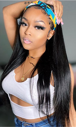 straight headband wigs 24 inch