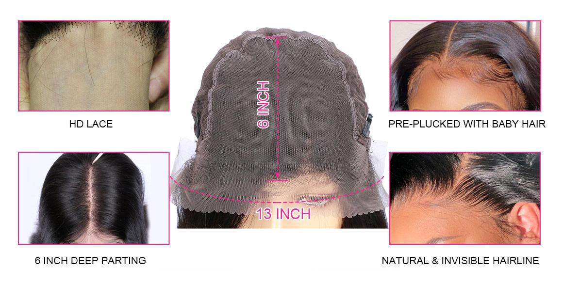13x6 HD Lace Wigs