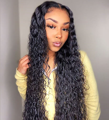 Water Wave 13*6 Lace Front Wigs
