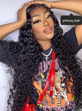 deep wave 13*6 wigs